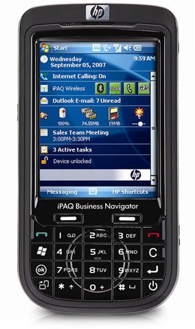 КПК HP iPAQ 614c с GPS