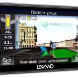 Lexand STR-5350+: 5-дюймовый навигатор с Bluetooth