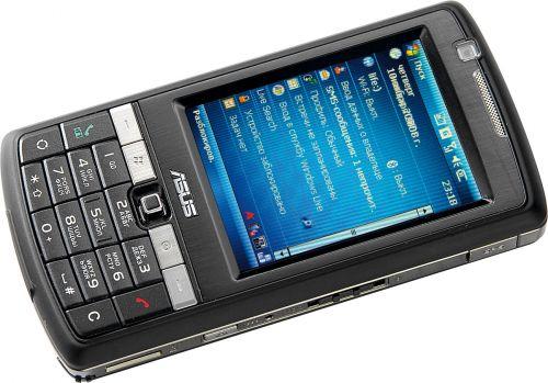 Коммуникатор и GPS-навигатор ASUS P750