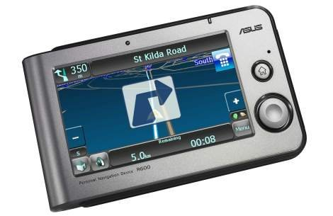GPS Навигатор ASUS R600