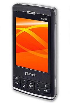 Коммуникатор Glofiish x650