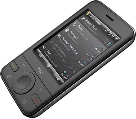 Навигатор-коммуникатор HTC P3470
