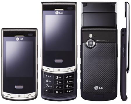 Имиджевый телефон LG Secret