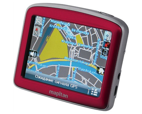 GPS-навигатор Mapitan RoadVector Cherry