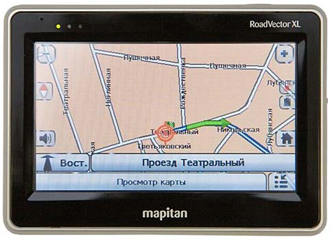GPS-навигатор Mapitan RoadVector XL