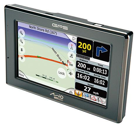 Mio C520 GPS-навигатор