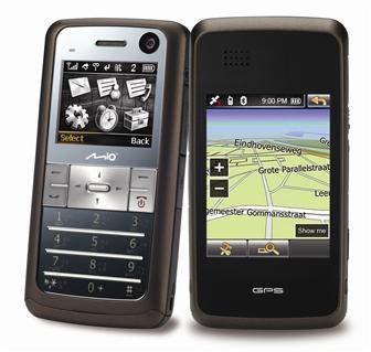 Телефон MIO K1 LEAP с GPS