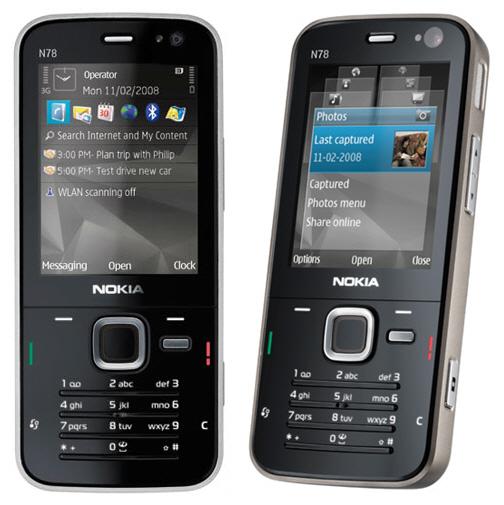 Смартфон Nokia N78
