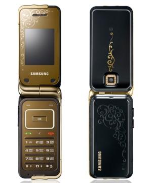 Дамский золотой гламур Samsung L310
