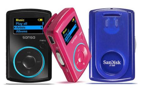 mp3-плеер  SanDisk Sansa Clip