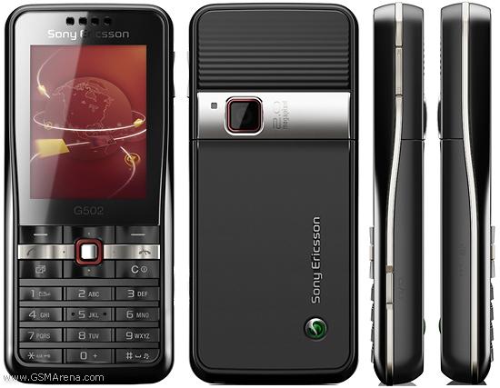 Sony Ericsson G502 - 3G телефон
