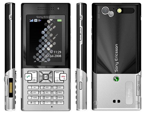 Суровый телефон Sony Ericsson T700