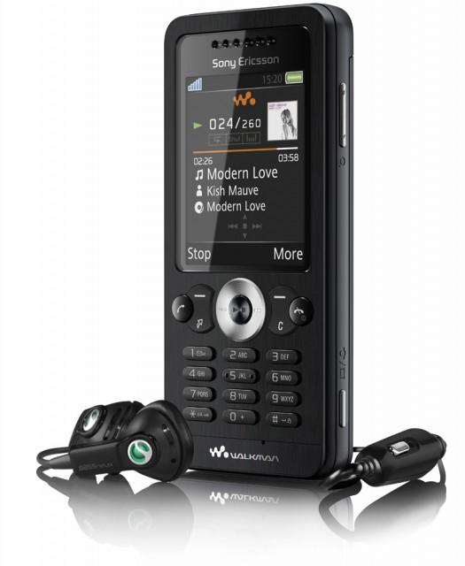 Телефон-аудио-плеер Sony Ericsson W302