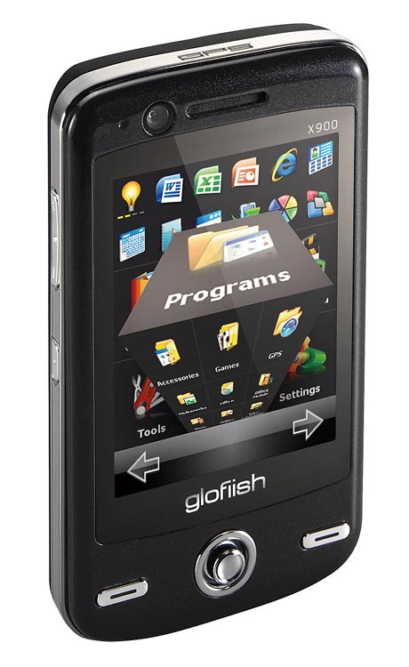 Коммуникатор Glofiish X900