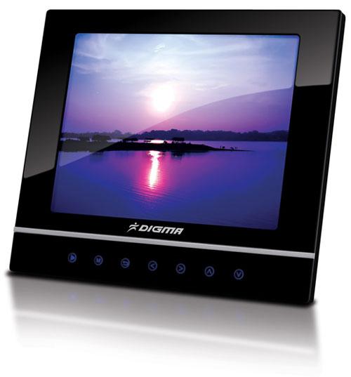 Цифровая фоторамка Digma PF-800