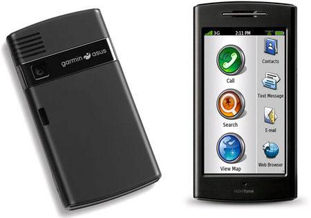 Смартфон Garmin-Asus nuvifone G60