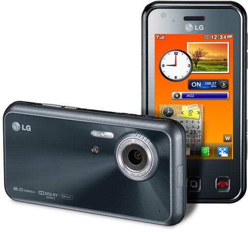 Камерофон LG Renoir KC910