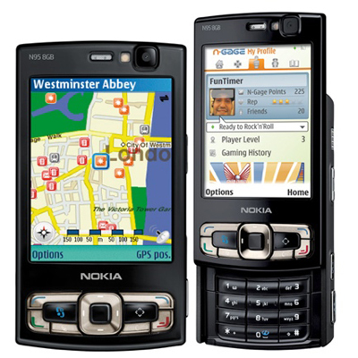 Мультимедиа смартфон Nokia N95 8Gb