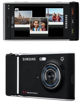 фотоаппарат со встроенным телефоном Samsung Memoir T929