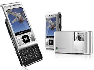 Камерофон-слайдер Sony-Ericsson C905