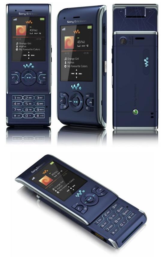 Слайдер Sony Ericsson W595