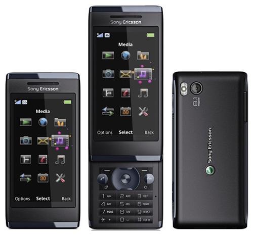 Мультимедийный слайдер-камерофон Sony-Ericsson Aino