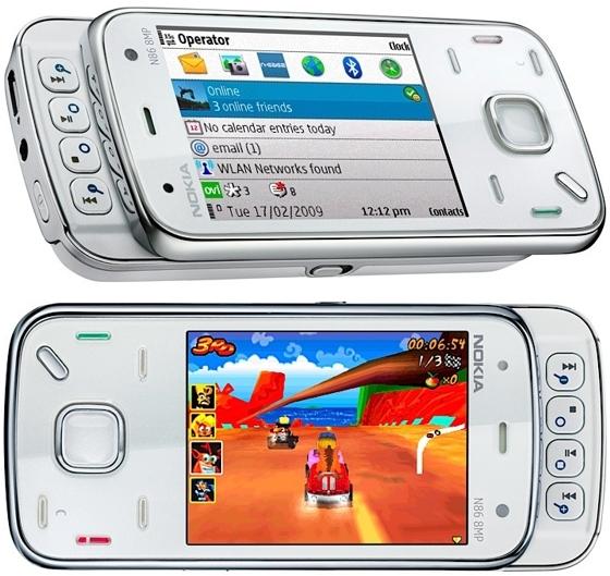 Смартфон-камерофон Nokia N86 8MP