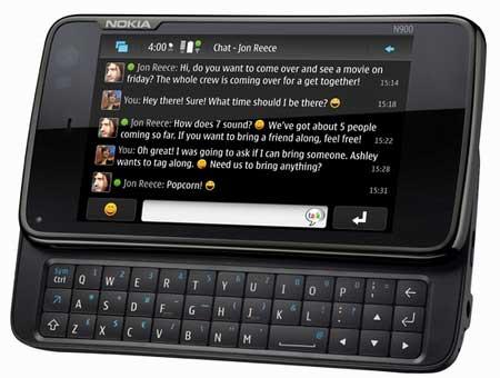 Интернет-планшет Nokia N900
