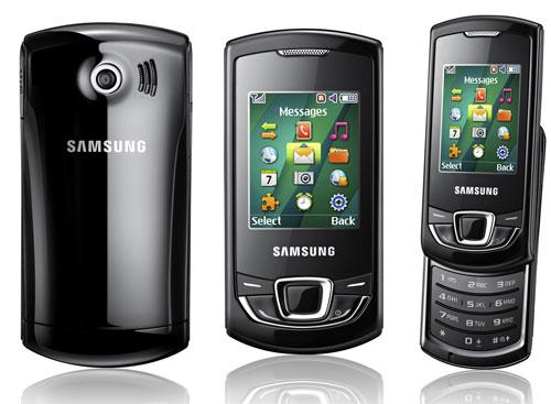 Недорогой и элегантный сотовый телефон Samsung GT-E2550