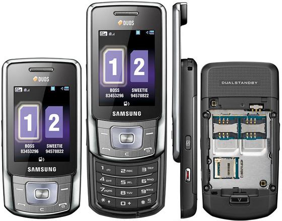 Сотовый телефон Samsung GT-B5702 Duos