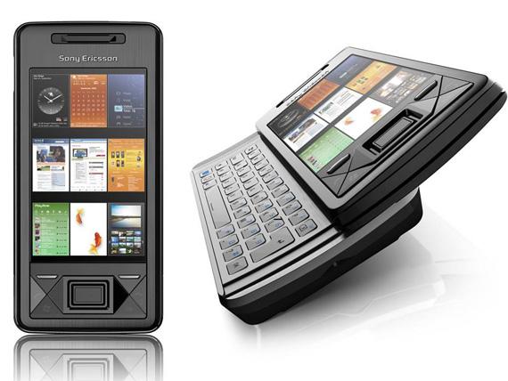 слайдер Sony Ericsson XPERIA X 2