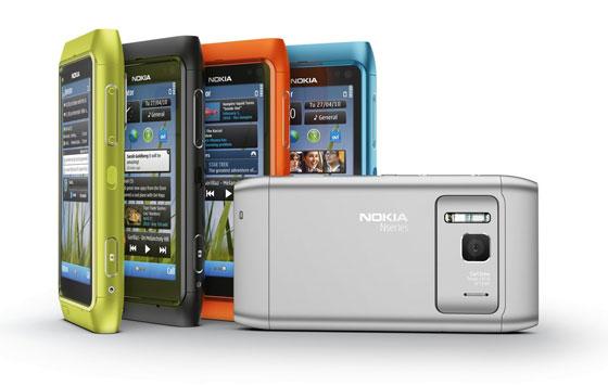 цветовая гамма Nokia N8