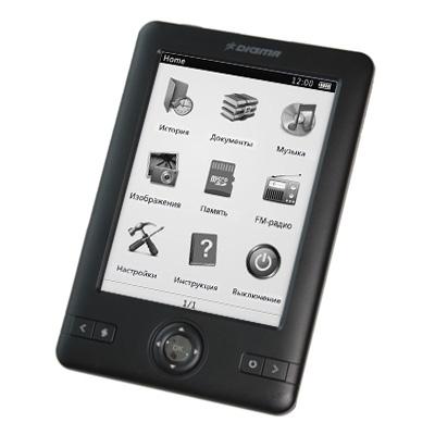 Читалка электронных книг Digma e500