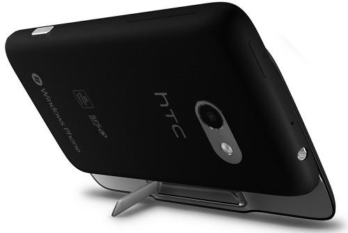 HTC 7 Surround: вид сзади