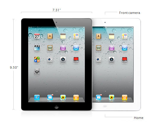 планшет Apple iPad 2 (Wi-Fi 3G)