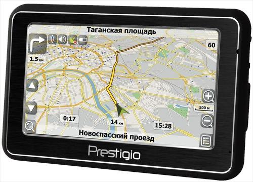 Автомобильный GPS-навигатор Prestigio GeoVision 4200BT