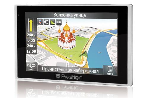 ГЛОНАСС/GPS-навигатор Prestigio GeoVision GV5135