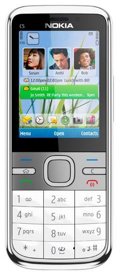 Умный телефон Nokia C5-00