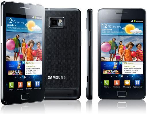 Коммуникатор-смартфон-камерофон Samsung Galaxy S2