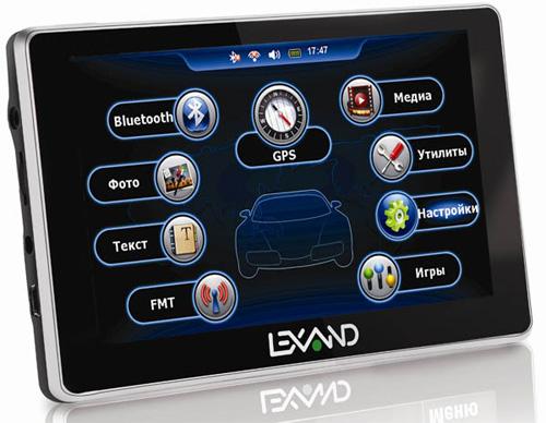 GPS-Навигатор Lexand ST-5350 Plus