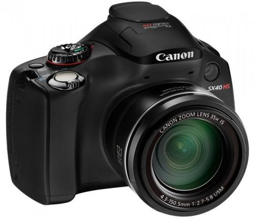 Фотоаппарат Canon PowerShot SX40 HS