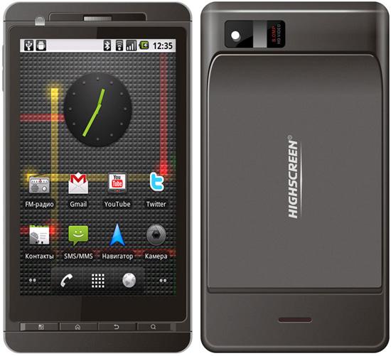 Бюджетный смартфон-коммуникатор Highscreen HD Duo