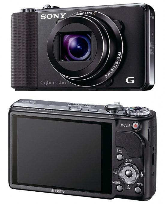 Цифровой фотоаппарат Sony Cyber-Shot DSC-HX9V