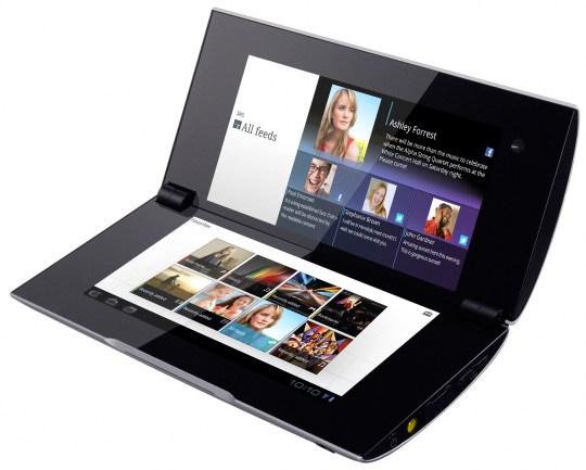 Планшет-раскладушка Sony Tablet P