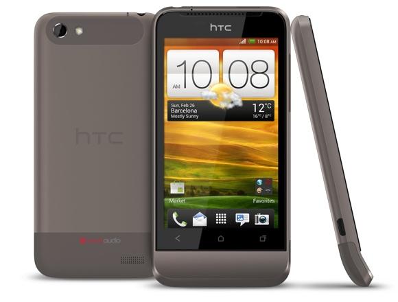 Младшенький в линейке HTC One - V