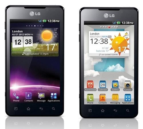 смартфон-коммуникатор LG Optimus 3D Max