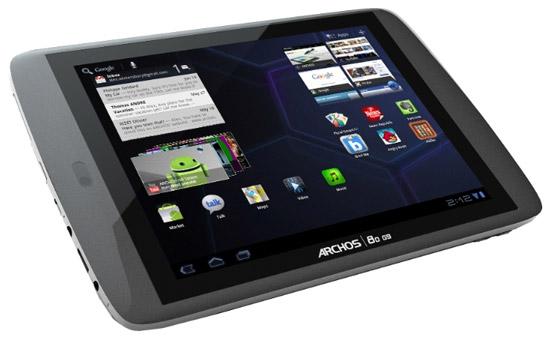Планшетный компьютер Archos 80 G9
