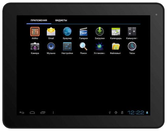 Тонкий интернет-планшет Digma iDs 10
