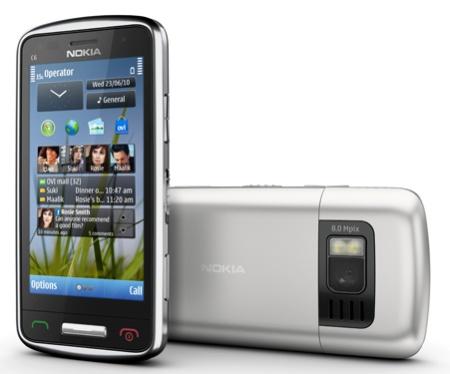 Смартфон-коммуникатор Nokia C6-01