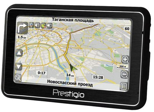 GPS-навигатор Prestigio GeoVision 5500